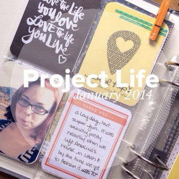 rukristin project life january pages