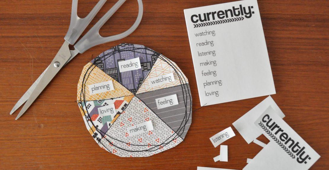 Vanessa for rukristin DIY Pie Chart Tutorial