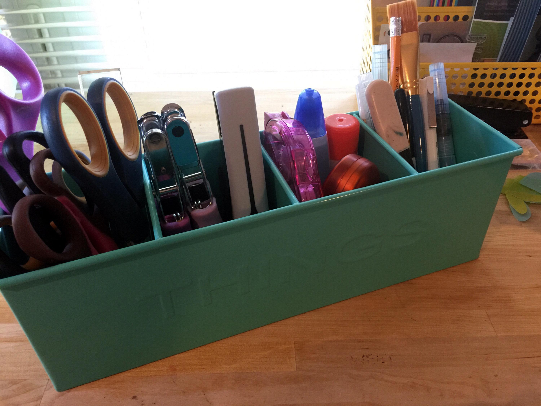 workspace wednesday rukristin. organizing tools.