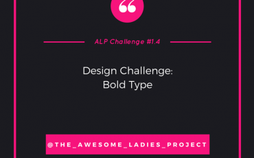 AWESOME LADIES CHALLENGE #1.4