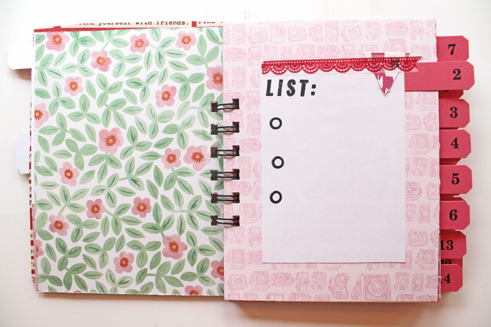 Katie 30 Days of Lists March 2016 Mini-Album