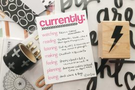 rukristin Currently List Journaling Challenge