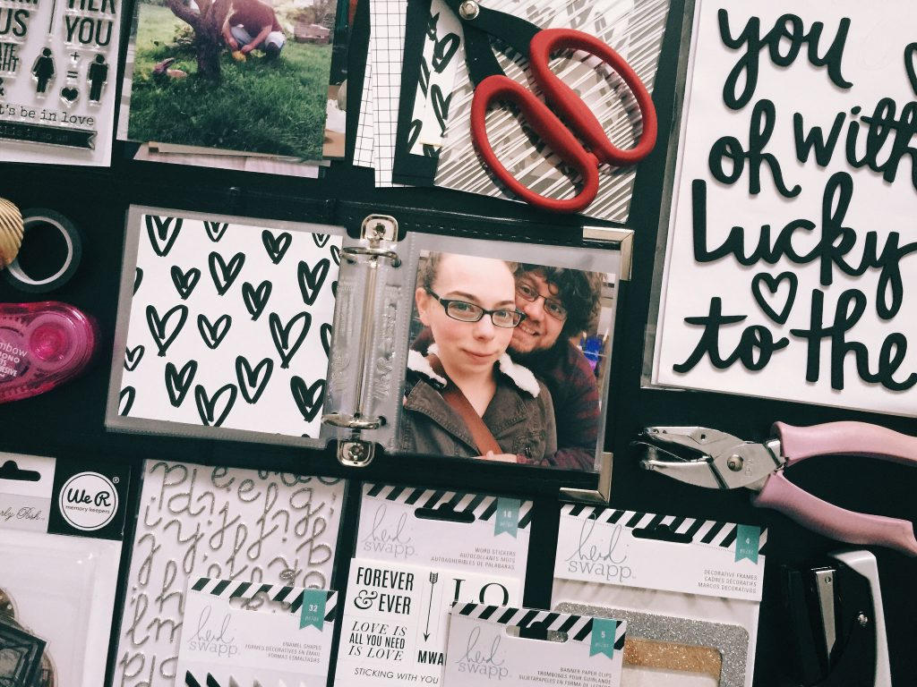 Ten Things I Love About You Mini Album Workshop by rukristin: Feminist Scrapbooker