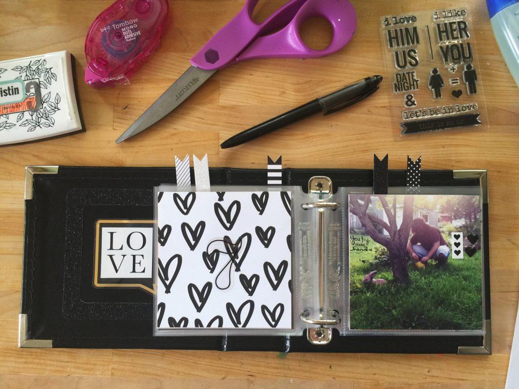 rukristin's Ten Things I Love About You Mini Album Workshop