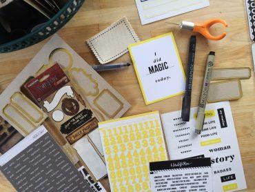 rukristin scrapbook supply checklist