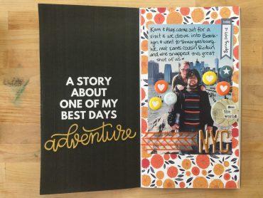 rukristin printable scrapbook travelers notebook