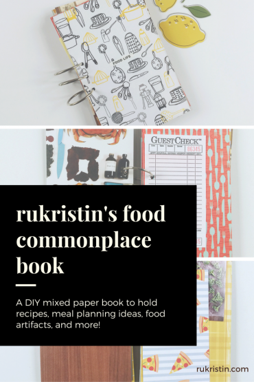 rukristin's food commonplace book