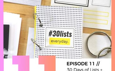 11 30 days of lists