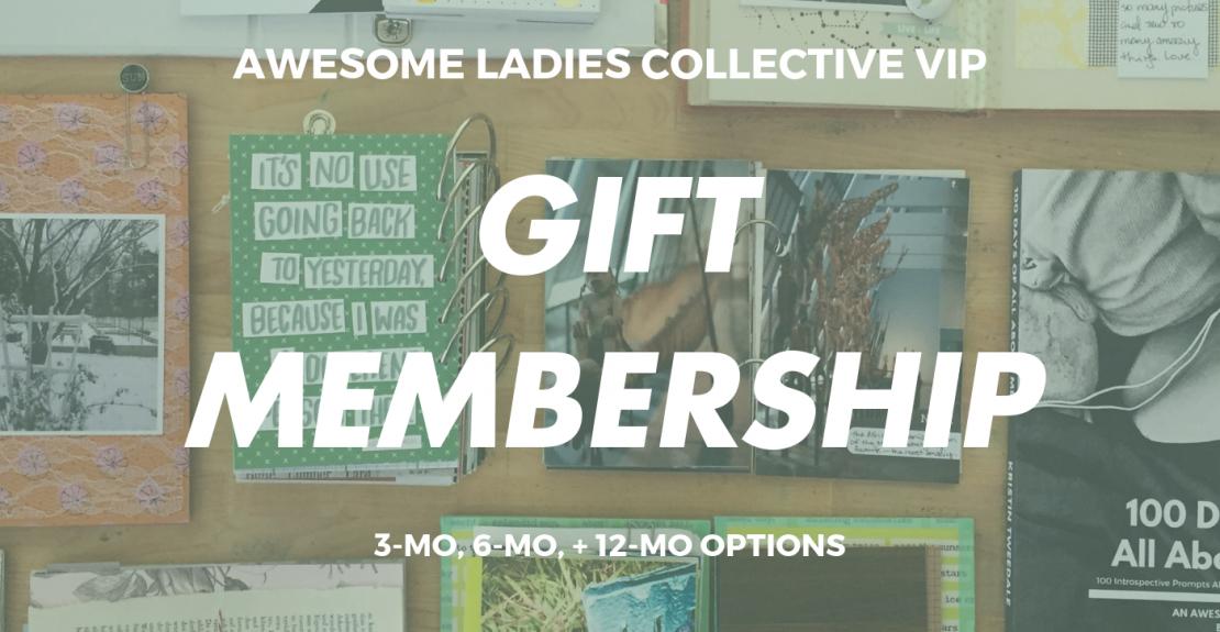 Awesome Ladies Gift Membership